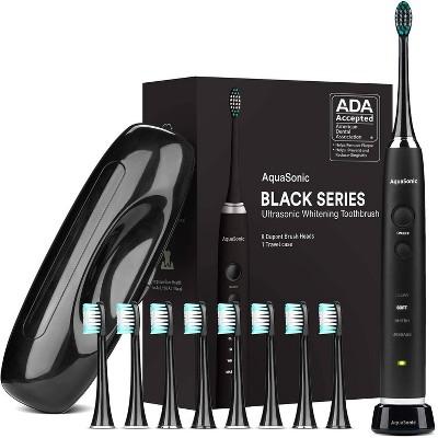 Aquasonic Ultra Sonic Series Whitening Electric Toothbrush - Black
