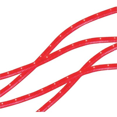 J. Hofert Co 215ct Christmas Indoor/Outdoor Rope Light Set White Cord - Red