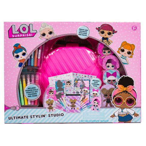 L.O.L. Surprise! Ultimate Stylin' Studio 38pc Craft Set - image 1 of 4