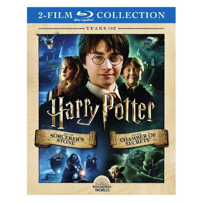 Harry Potter:Sorcerer's Stone/Chamber (Blu-ray)
