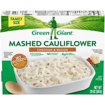 Green Giant Mashed Frozen Cauliflower Cheddar & Bacon - 20oz