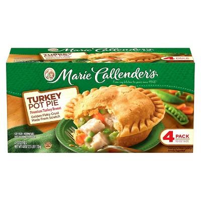 Marie Callenders Frozen Turkey Pot Pie - 4ct/40oz