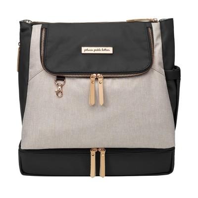 Petunia Pickle Bottom Pivot Diaper Bag- Sand/Black