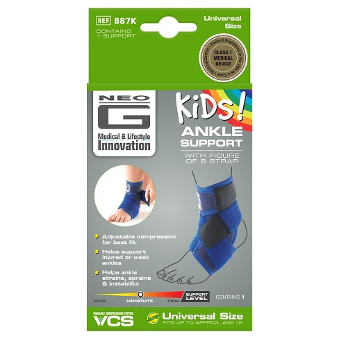 Neo G Kids Ankle Support with Figure 8 Strap - One Size - image 1 of 7