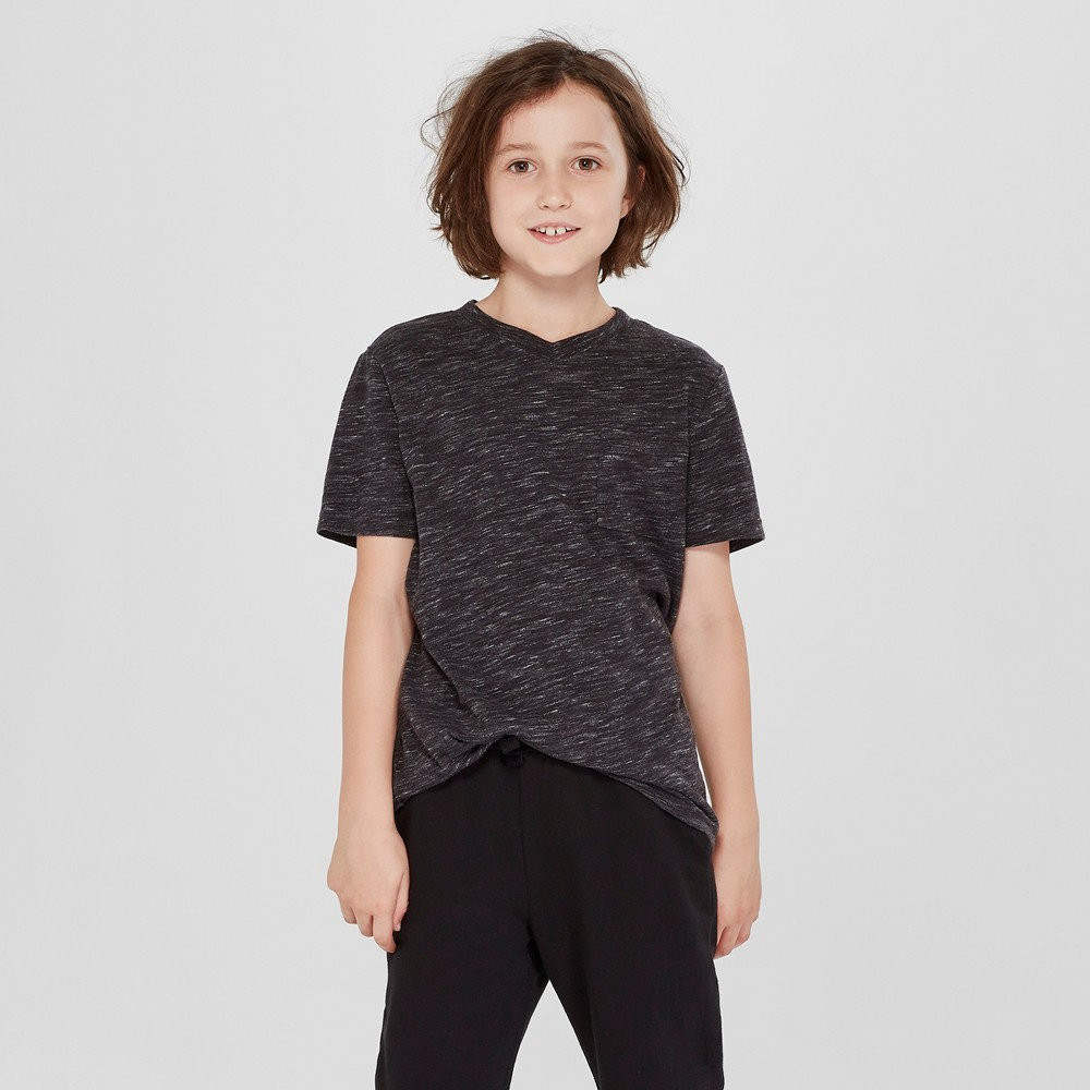 Boys 39 Short Sleeve Heathered Favorite T Shirt Cat 38 Jack 8482 Black M