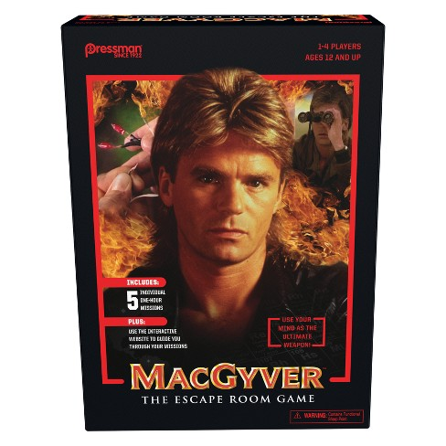 Pressman MacGyver: The Escape Room Game - image 1 of 4