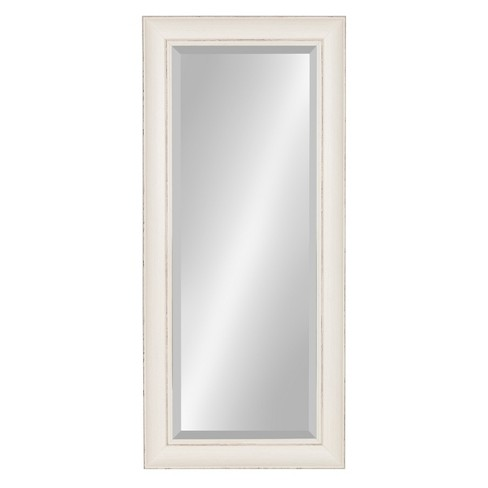 Macon Beveled Decorative Wall Mirror 16x36 - Kate & Laurel - image 1 of 4