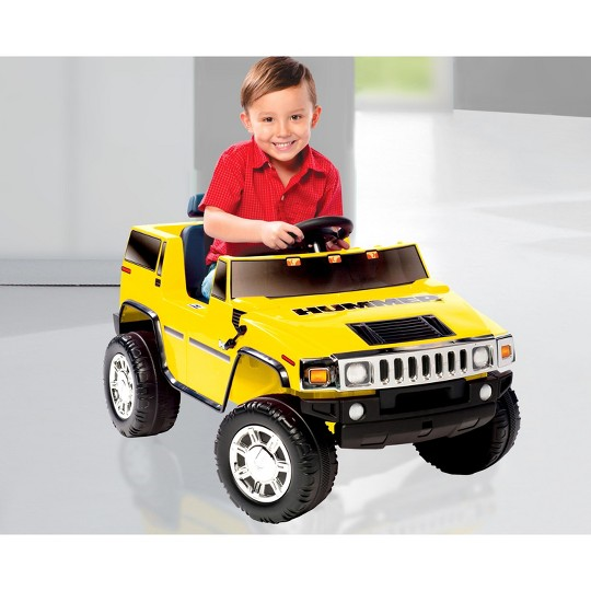 Kid Motorz Hummer H2 6V Ride On - Yellow image number null