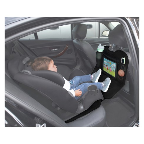 Lulyboo Baby Auto Seat Protector And Carseat Organizer With Clear
