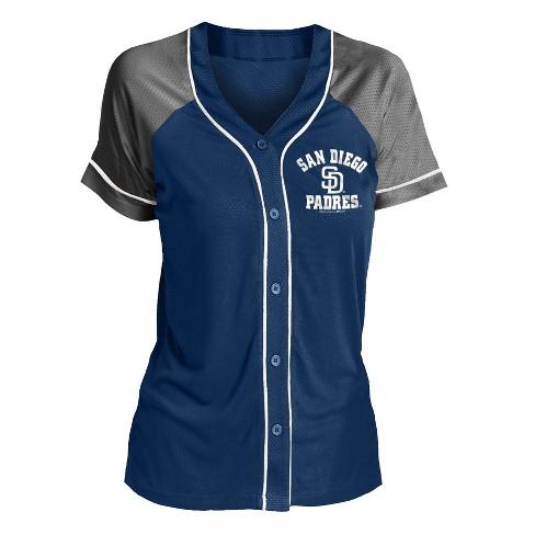 new style 66059 4ca7c MLB San Diego Padres Women's Fashion Jersey
