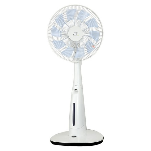 "Sunpentown - 14"" DC-Motor Indoor Misting Fan - White - image 1 of 1"
