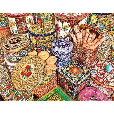Springbok Cookie Tins Puzzle 500pc