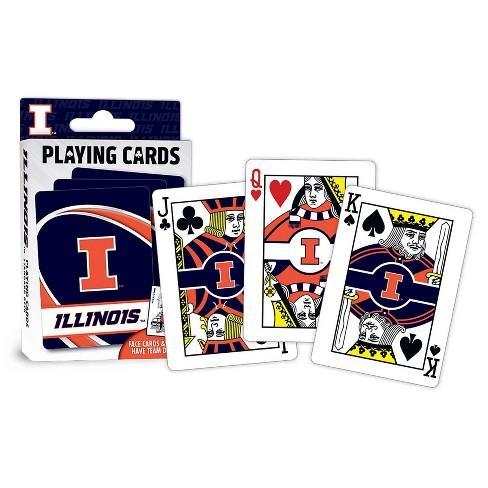 NCAA Illinois Fighting Illini Playing Cards - image 1 of 2
