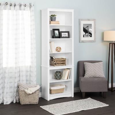 "80"" Tall Bookshelf White - Prepac"