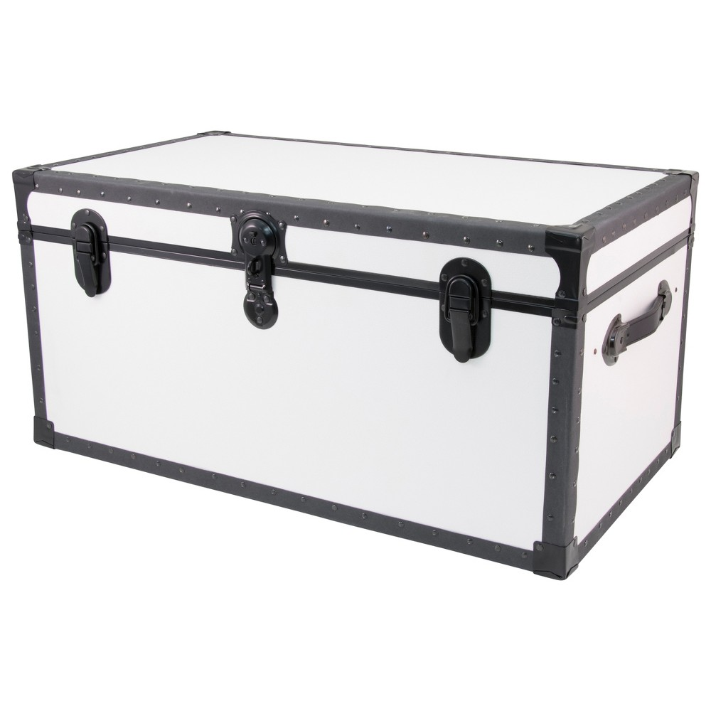 Image of Seward Trunk Classic Collection Footlocker Clear