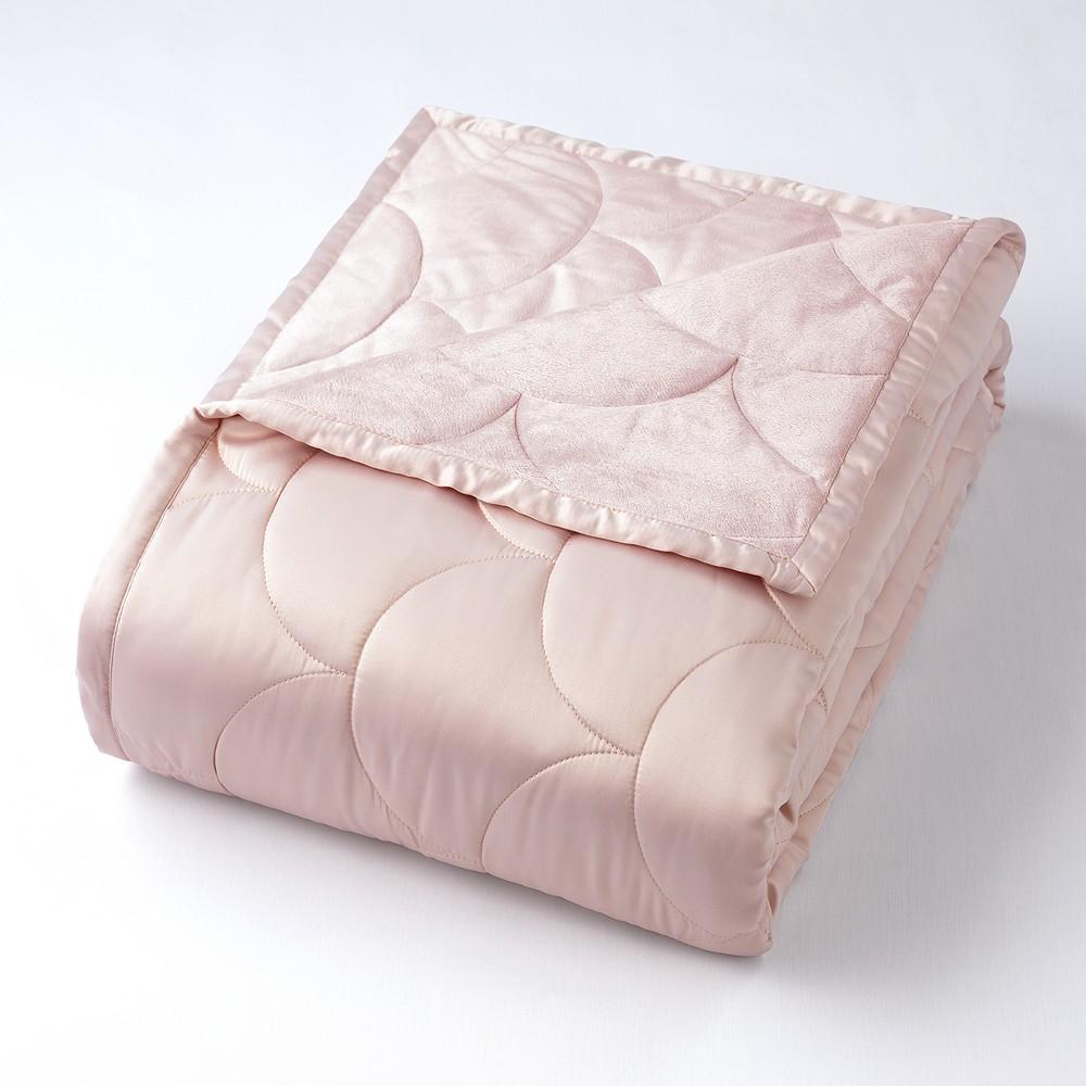 Image of Full/Queen Reversible Blanket Rose Gold - Nikki Chu