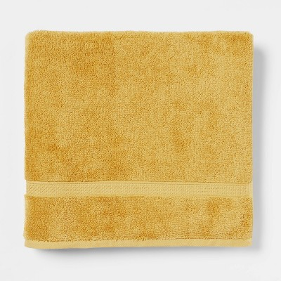 Perfectly Soft Solid Bath Towel Fall Yellow - Opalhouse™
