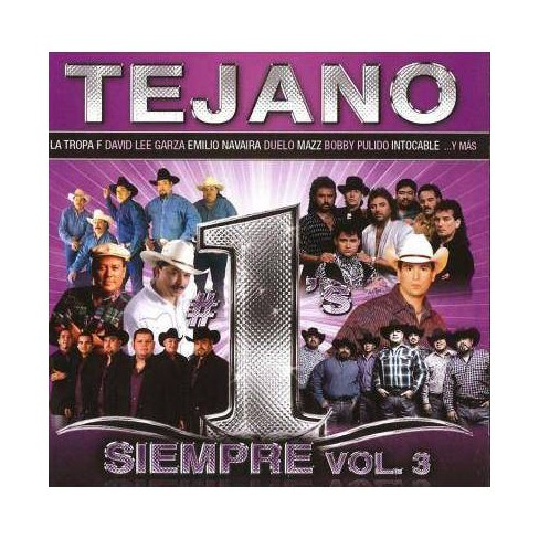 Various - Tejano #1's Siempre Vol. 3 (CD) - image 1 of 1