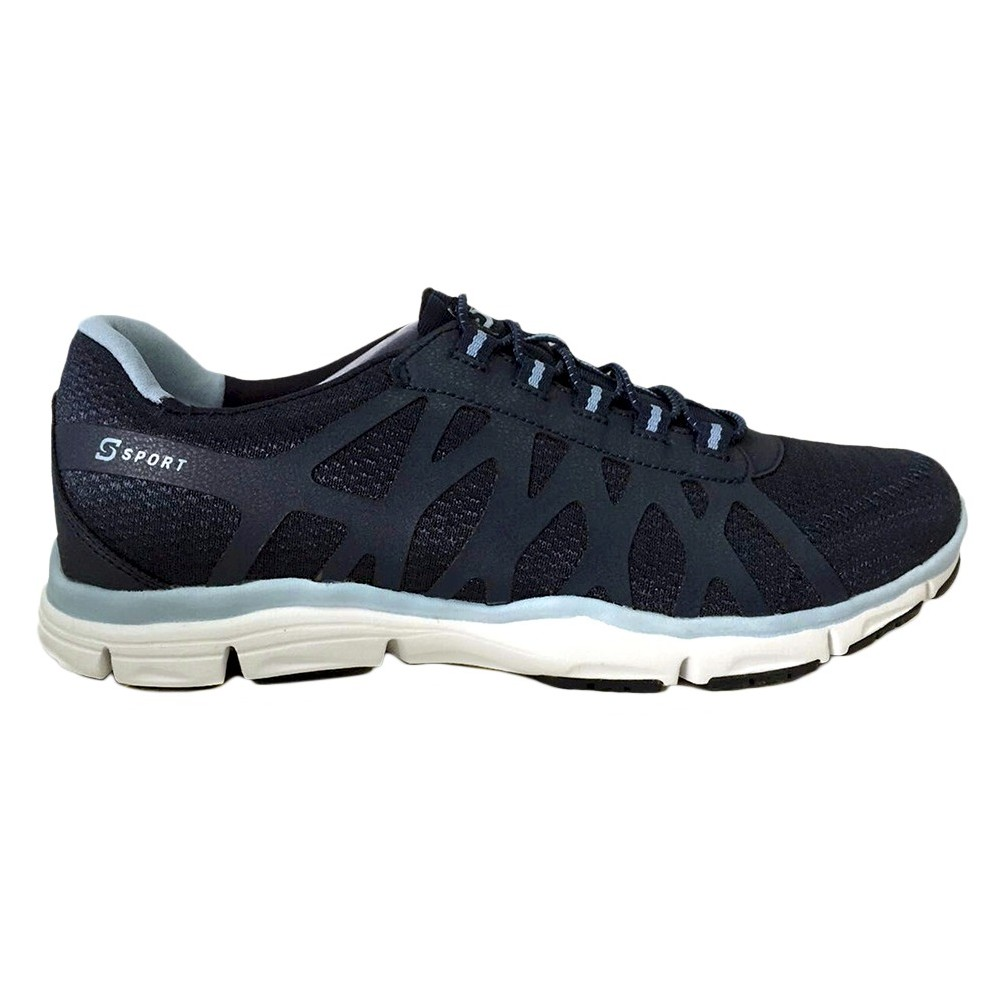 Women's S Sport By Skechers Comfort'D Performance Athletic Shoes - Blue 8