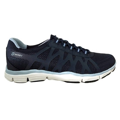 Women's S Sport By Skechers Comfort'D Performance Athletic Shoes - Blue - image 1 of 4
