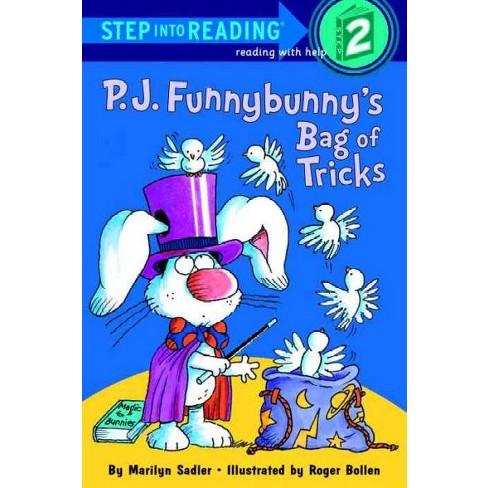 P.J. Funnybunny's Bag of Tricks - (Step Into Reading - Level 2) by  Marilyn Sadler (Paperback) - image 1 of 1