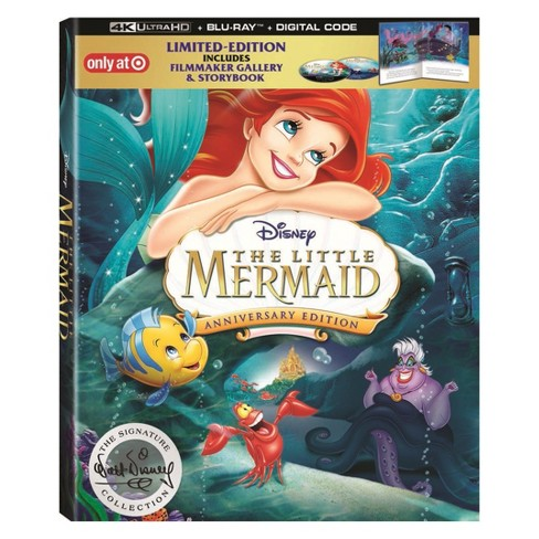 The Little Mermaid 30th Anniversary Signature Collection(4K)(Target Exclusive) - image 1 of 3