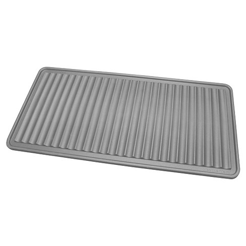 """Gray Solid Boot Tray - (1'6""""x3') - WeatherTech - image 1 of 2"""