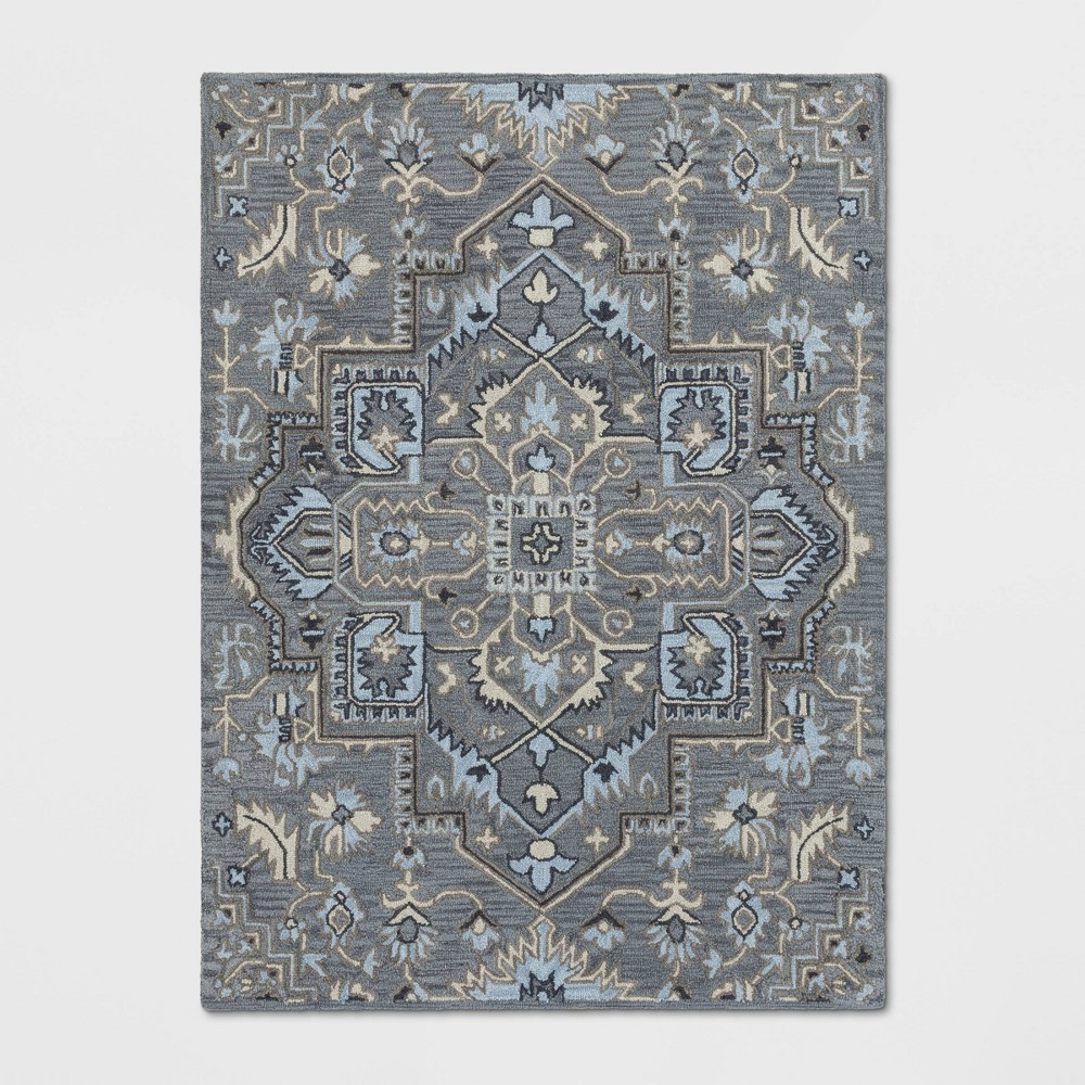 5'X7' Hyssop Jacquard Tufted Area Rug Stone Gray - Opalhouse was $179.99 now $89.99 (50.0% off)