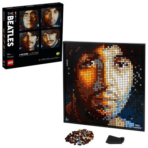 LEGO Art The Beatles Collectible Creative Beatles Canvas Wall Art Building Kit 31198 - image 1 of 4
