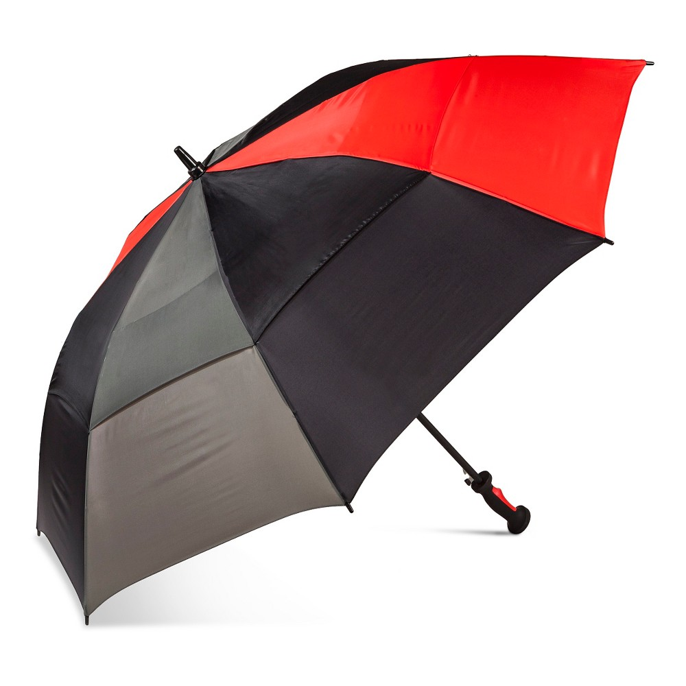 ShedRain Air Vent Golf Umbrella - Black, Multi-Colored