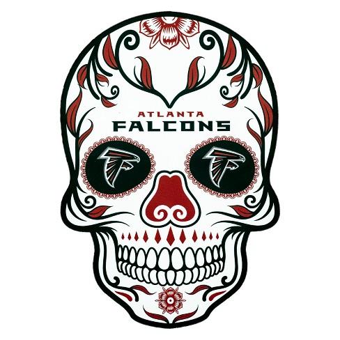 NFL Atlanta Falcons Small Outdoor Skull Decal - image 1 of 2