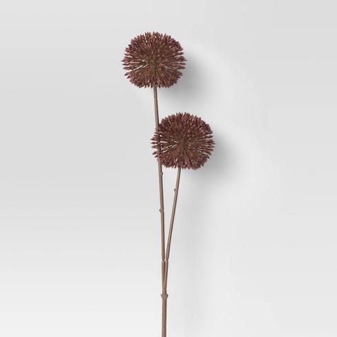 """24"""" Artificial Allium Stem Purple - Threshold™ - image 1 of 1"""