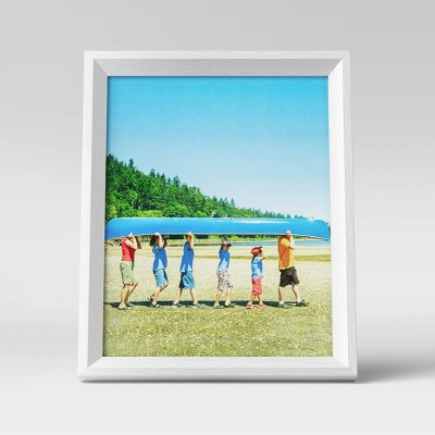 "8"" x 10"" Wedge Picture Frame White - Room Essentials™"