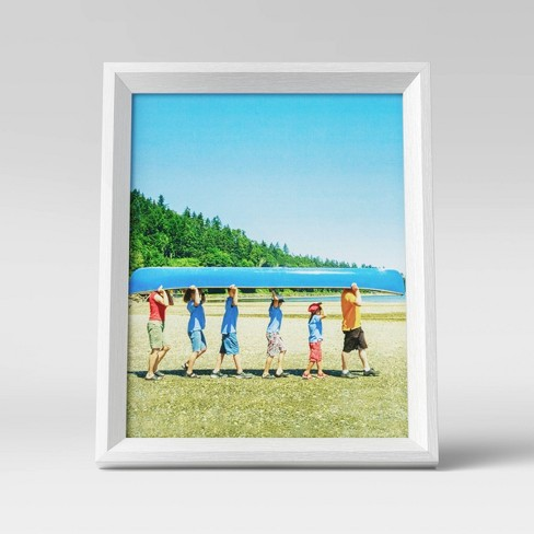 """8"""" x 10"""" Wedge Picture Frame White - Room Essentials™ - image 1 of 4"""
