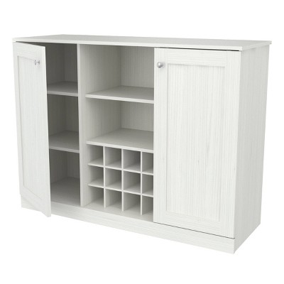 2 Doors Buffet Cabinet White - Inval