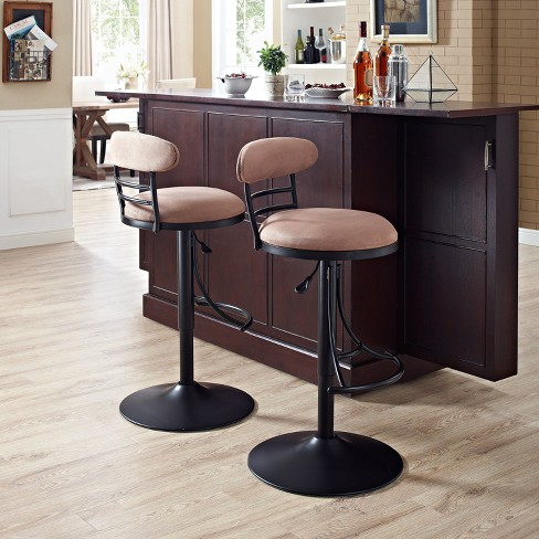 Jasper Swivel Counter Stool with Cushion - Crosley - image 1 of 10