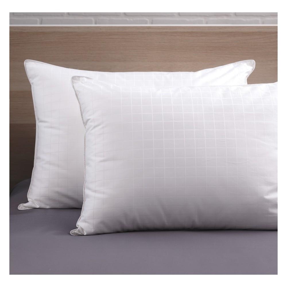 Image of Candice Olson Down Alt Medium Pillows 2 pack - White (King)
