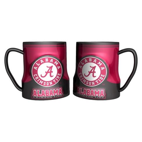 NCAA Alabama Crimson Tide 2 Pack Game Time Coffee Mug - Red (20 oz) - image 1 of 1