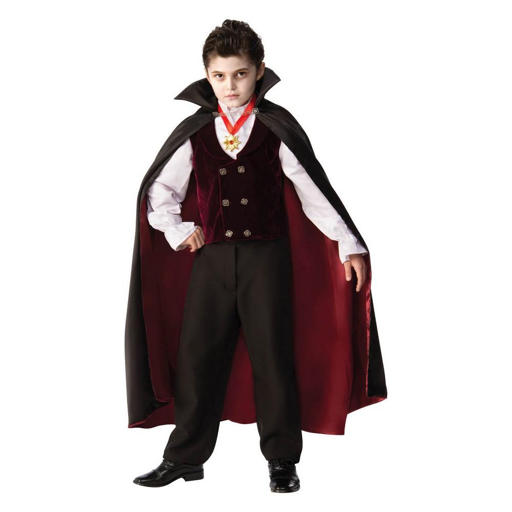 Kids' Gothic Vampire Halloween Costume L, Kids Unisex, Multicolored