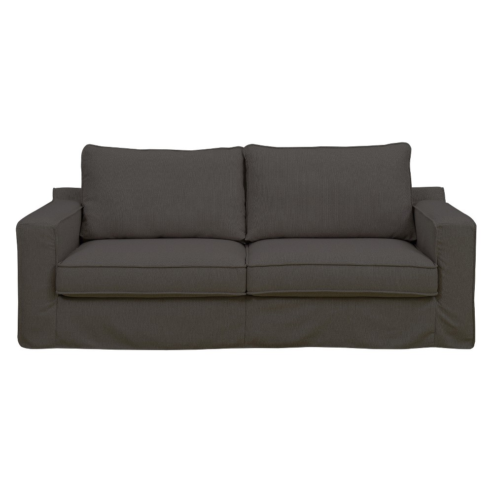 Colton 85 Sofa with Slipcover Brown - Serta