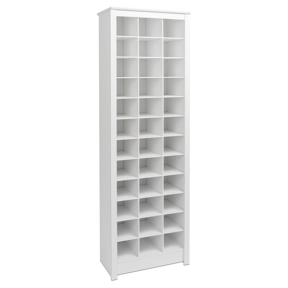 Freemont Shoe Storage - White - Prepac