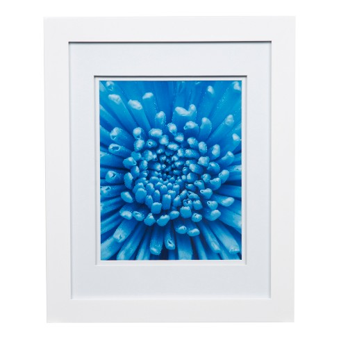 Single Image 11x14 Wide Double Mat White 8x10 Frame Gallery