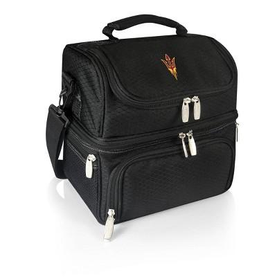 NCAA Arizona State Sun Devils Pranzo Dual Compartment Lunch Bag - Black