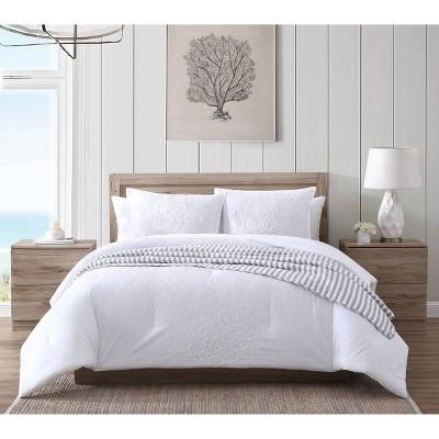Fan Coral Comforter & Sham Set - Stone Cottage