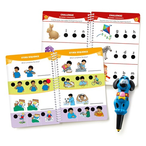 Educational Insights Hot Dots Jr. Let's Master Pre-K Reading Set with Ace Pen - image 1 of 4
