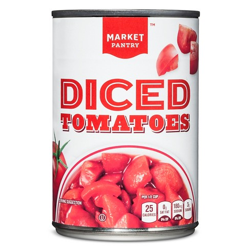 Diced Tomatoes 14.5 oz - Market Pantry™ - image 1 of 1