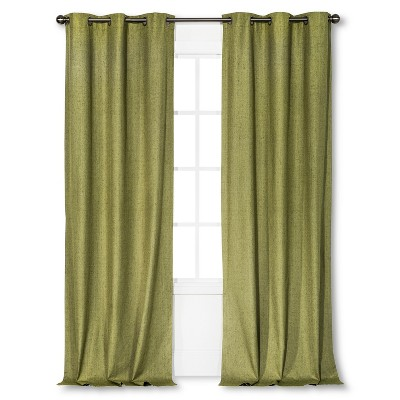 Windsor Light Blocking Curtain Panel Green (42 x108 )- Eclipse™