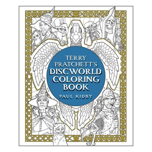Terry Pratchett's Discworld Coloring Book (Paperback) - image 1 of 1