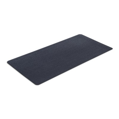 MotionTex Indoor At Home Fitness Equipment Floor Protection Exercise Mat for Treadmills, Ellipticals, and Bikes,  24 x 48 Inch