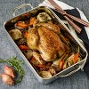 "Cuisinart 10""x14"" Stainless Steel Roasting Pan with Rack - image 2 of 4"